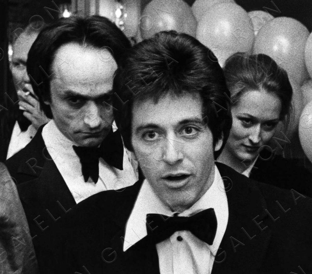19761119_Al Pacino John Cazale Meryl Streep