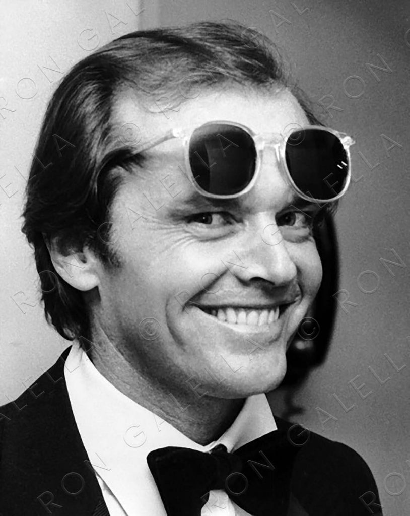 LOS ANGELES, CA - APRIL 3:  Jack Nicholson attends 50th Annual Academy Awards on April 3, 1978 at the Dorothy Chandler Pavilion in Los Angeles, California. (Photo by Ron Galella, Ltd./WireImage)