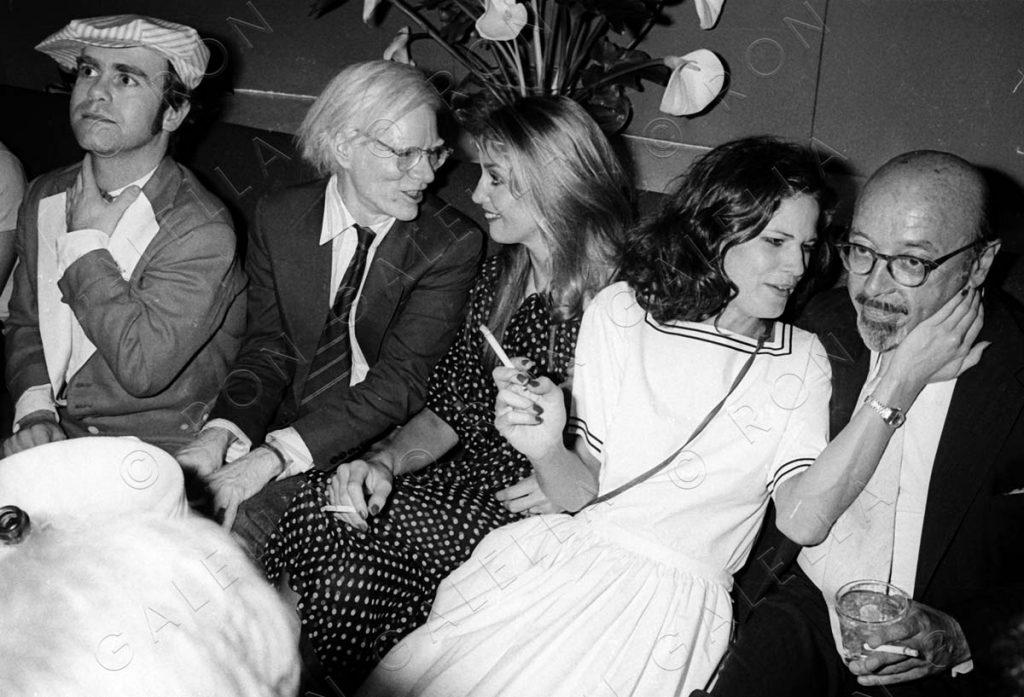19780612_Elton John Andy Warhol Jerry Hall Ahmet Ertegun