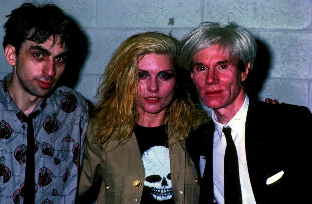 19820814_Blondie Andy Warhol