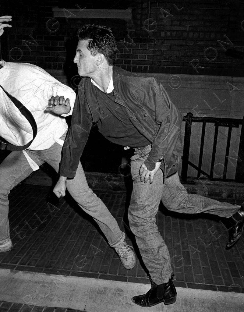 Sean Penn and Anthony Savignano